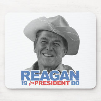 Reagan-Cowboy 1980 Mousepad