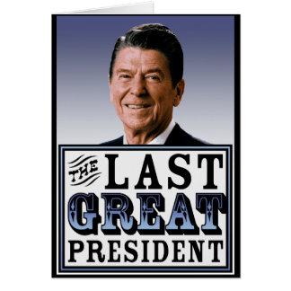 Reagan: Der letzte große Präsident Karte