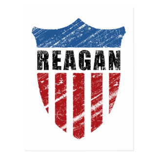 Reagan-Patriot-Schild Postkarte