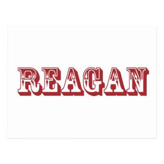 Reagan Postkarte