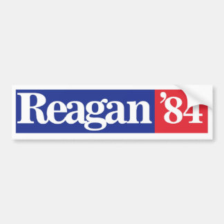 Reagan-Wiederwahl-Autoaufkleber 1984 Autoaufkleber
