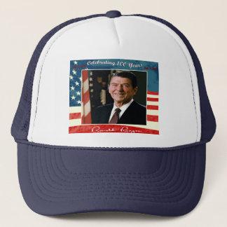 Reagans 100. Geburtstags-Hut Truckerkappe