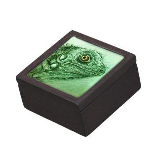 Realistische illustrierte grüne Geschenkboxen - Schmuckkiste
