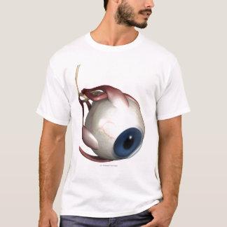 Realistische Wiedergabe der Muskeln des Auges T-Shirt