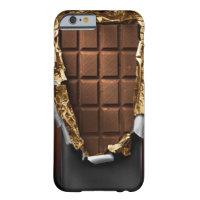 Realistischer ausgepackter Schokoladen-Bar iPhone