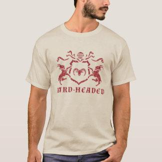 Realistischer heraldischer Ziegen-T - Shirt