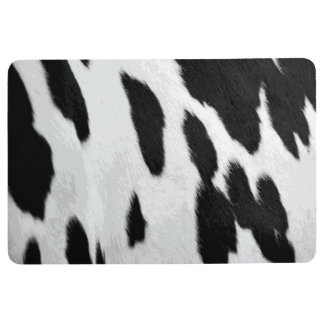 Realistischer Holstein-Kuh Fell-Blick Bodenmatte