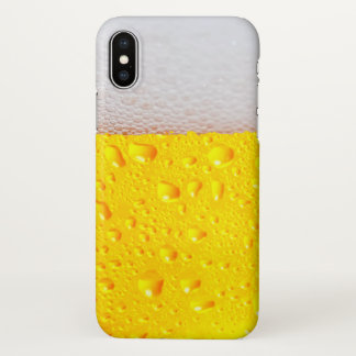 Realistisches Bier iPhone X Hülle