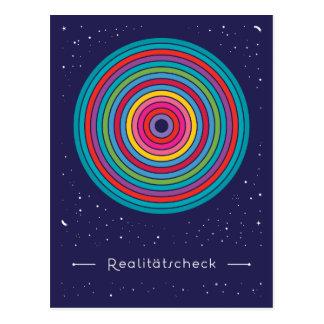 Realitätscheck Postkarte