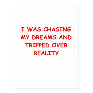 REALITY.png Postkarte