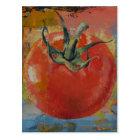 Rebe-Tomate Postkarte
