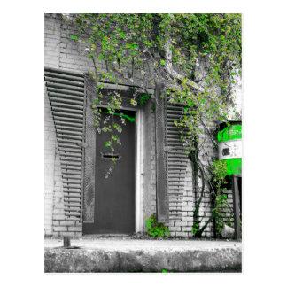 Rebe-Tür-Postkarte Postkarte