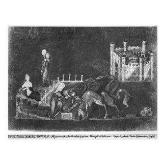 Rebecca und Eliezer am Brunnen Postkarten