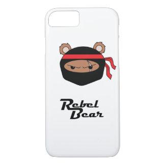 Rebellenbär Ninja iPhone 8/7 Hülle