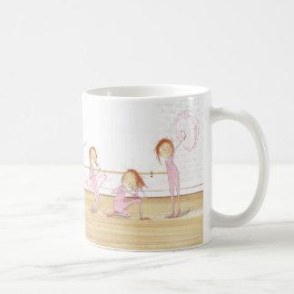 Rebellische Ballerina Kaffeetasse