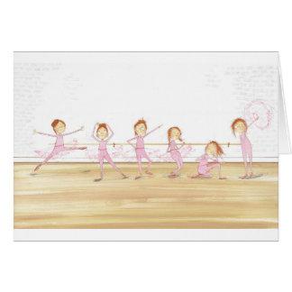 Rebellische Ballerina Karte