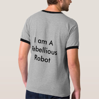 Rebellischer Roboter T-Shirt