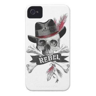 Rebellischer Stammes- gotischer iPhone 4 Case-Mate Hülle