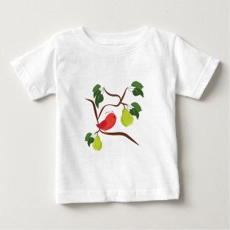 Rebhuhn im Birnen-Baum Baby T-shirt
