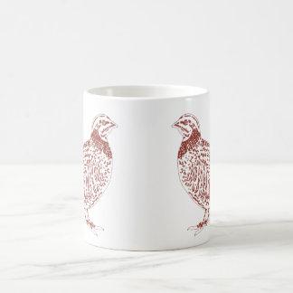 Rebhühner Kaffeetasse