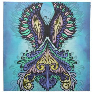 Reborn - dunkel, böhmisch, Spiritualität Stoffserviette