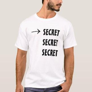 Rebus-Puzzlespiel: Streng geheim T-Shirt