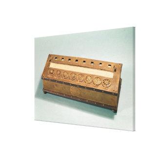 Rechenmaschine erfunden von Blaise Pascal Galerie Faltleinwand