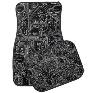 Rechnerschaltung-Brett-Auto-Boden-Matten Automatte