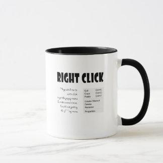 Recht - Klicken Tasse
