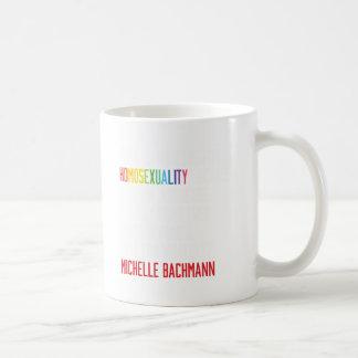 Rechte der Homosexuellen - Homosexualität ist Kaffeetasse