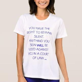 Rechte T-Shirt