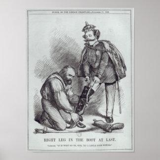 Rechtes Bein im Stiefel bei Last Poster