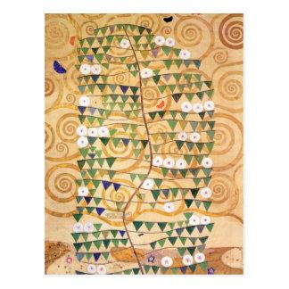 Rechtes Teil des Baums des Lebens Postkarte
