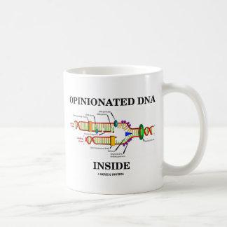 Rechthaberisches DNS-Innere (DNS-Reproduktion) Kaffeetasse