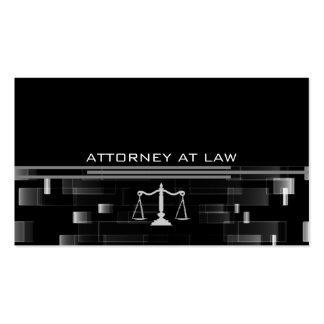 Rechtsanwalt am Gesetz Visitenkartenvorlagen