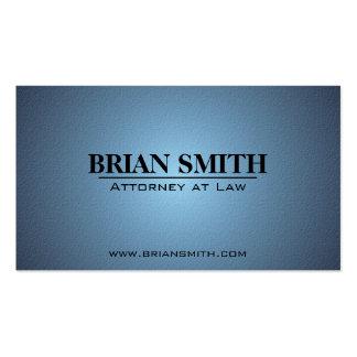 Rechtsanwalt am Gesetz - Visitenkarten