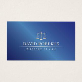 Rechtsanwalt am Gesetzesmetallblau-Rechtsanwalt Visitenkarten