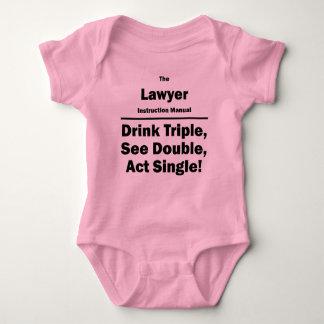 Rechtsanwalt Baby Strampler
