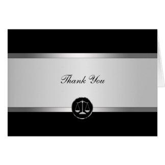 Rechtsanwalt danken Ihnen Karten