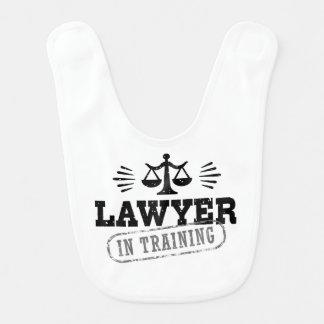 Rechtsanwalt im Training Lätzchen