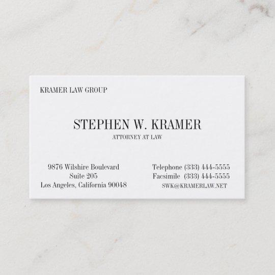 Rechtsanwalt Karte Visitenkarte Zazzle De