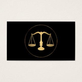 Rechtsanwalt-Rechtsanwalts-Logo-Visitenkarte Visitenkarte