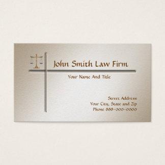 Rechtsanwalt-Rechtsanwalts-Visitenkarte Visitenkarte