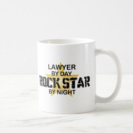 Rechtsanwalt-Rockstar bis zum Nacht Tee Tasse