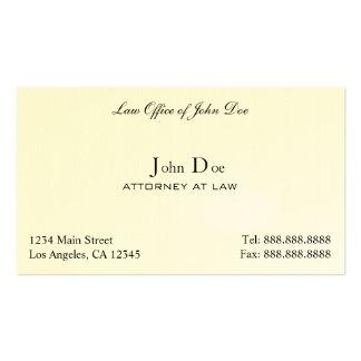 Rechtsanwalt sauber - Rechtsanwaltsbüro Visitenkarten