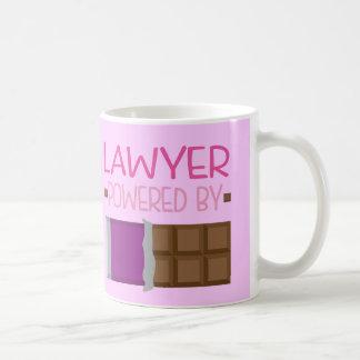 Rechtsanwalt-Schokoladen-Geschenk für sie Tasse