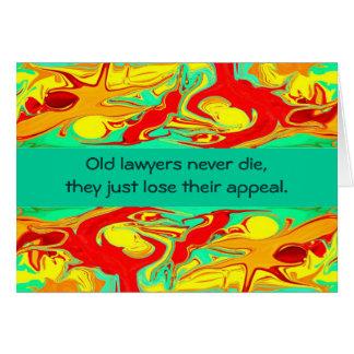 Rechtsanwalt-Spaß Karte