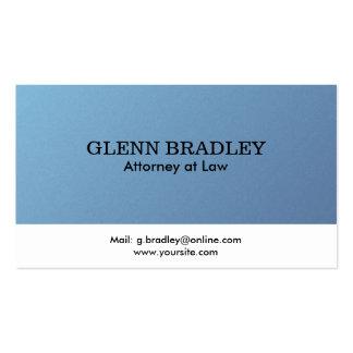 Rechtsanwalt - Visitenkarten