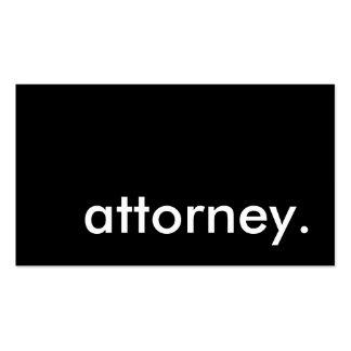 Rechtsanwalt Visitenkarten