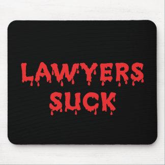 Rechtsanwälte sind zum Kotzen Mousepad